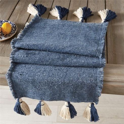 Navy Ponchaa Table Runner collection with 1 products