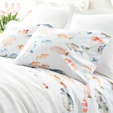 $56.00 Pair Std. Happy Fish Pillowcases