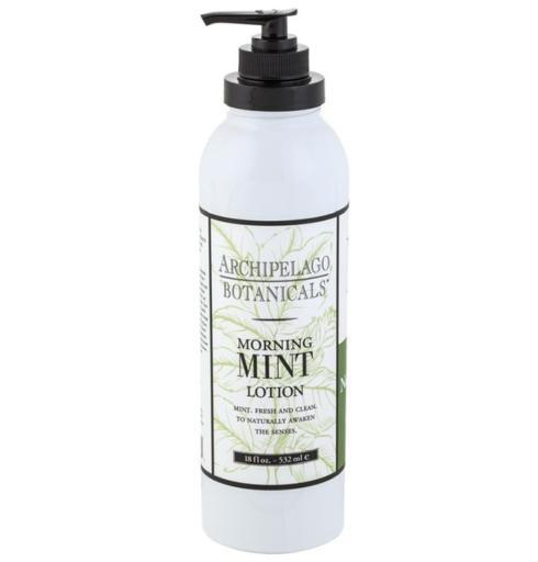 $28.00 Morning Mint 18oz. Lotion