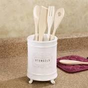 $24.00 Ceramic Utensil Holder
