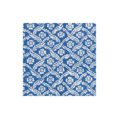 $6.95 Domino Paper Floral Cross Brace Cocktail Napkins