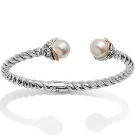 Neptune's Rings Pearl Open Hinged Bracelet collection with 1 products