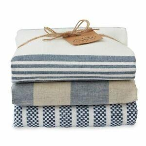 Blue Stacked Dishtowels S/3 collection with 1 products