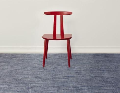 $190.00 Basketweave Denim Floor Cloth  35X48