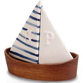 $24.00 Sailboat Salt & Pepper Set