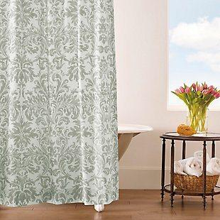 $125.00 Lennox Pewter Shower Curtain