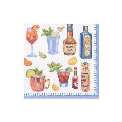 $6.95 Happy Hour Paper Cocktail Napkins