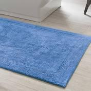 "$64.00 Signature French Blue 22""X44"" Bath Rug"