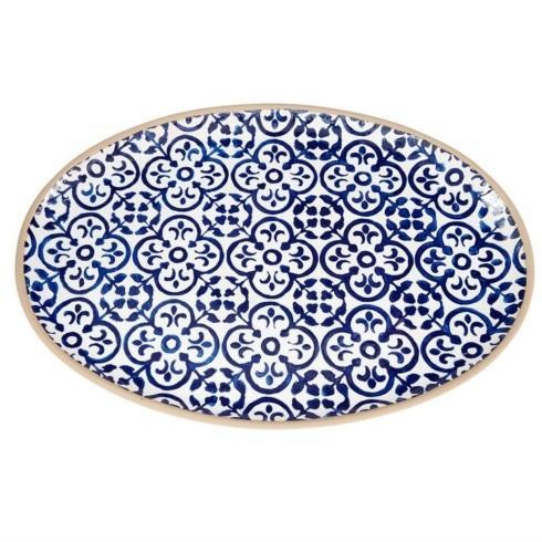$50.00 Blue Stoneware Platter