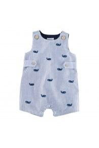 Whale Seersucker Shortfall 12-18mos. collection with 1 products