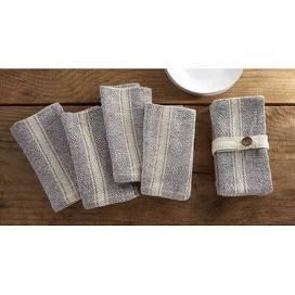 $20.00 Farmhouse Cloth Napkins S/4