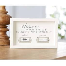 $14.00 Home WIFI Plaque