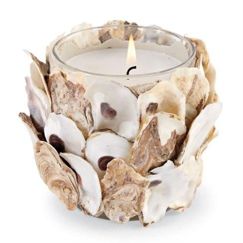 Oyster Shell Filled Candle collection with 1 products