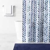 $112.00 Blue Brush Shower Curtain
