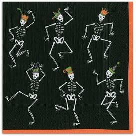 $6.95 Dancing Skeletons Paper Cocktail Napkins