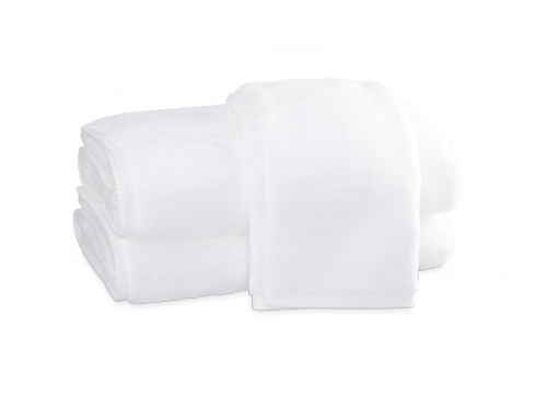 Milagro White Hand Towel collection with 1 products