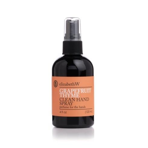 Grapefruit Thyme Clean Hand Spray 4oz. collection with 1 products