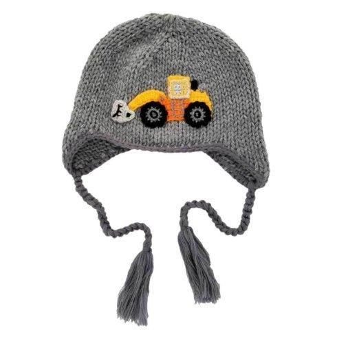 $24.00 Md Digger Backhoe Beanie 6-24mos