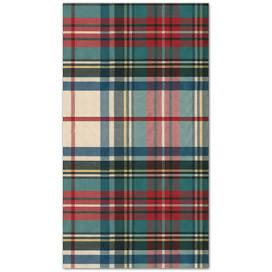$8.95 Dress Stewart Tartan Paper Guest Towel Napkins