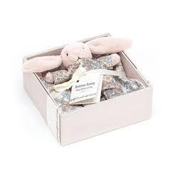 $38.00 Bedtime Blossom Bunny Gift Set