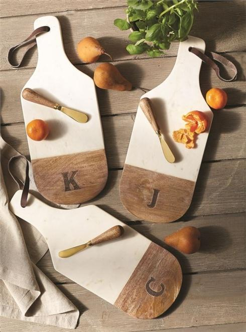 Marble & Wood Initial Board Set collection with 1 products