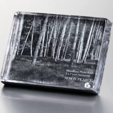 "Woodbury Horizontal Photo Block 5""X7""(gift boxed) collection with 1 products"