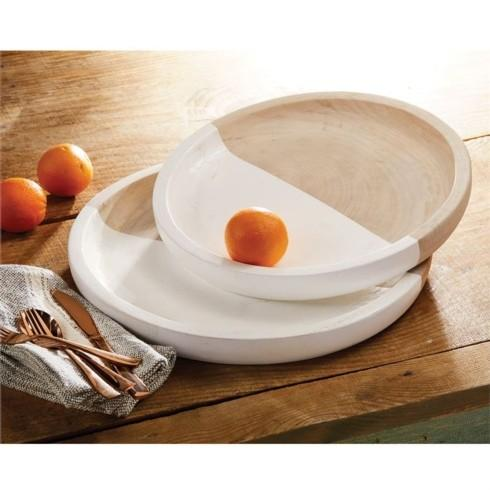 Small Paulownia Round Tray collection with 1 products