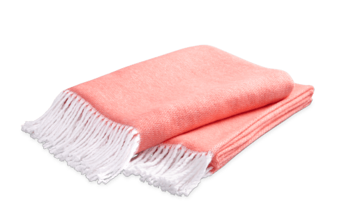Pezzo Throw Coral collection with 1 products