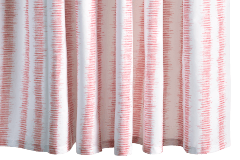 $225.00 Attleboro Pink Coral Shower Curtain