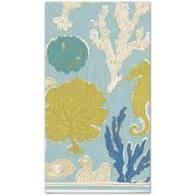 $8.95 Sealife Paper Guest Towels