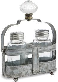 $25.00 Door Knob Salt & Pepper Set