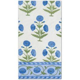 $8.95 Indian Poppy Guest Towel Napkins