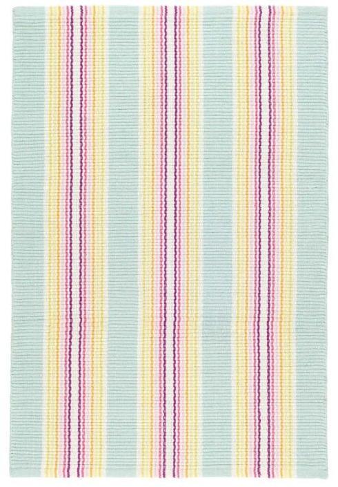 $44.00 Eden Stripe 2X3 Cotton Rug