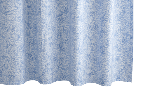 Nikita Azure Shower Curtain collection with 1 products