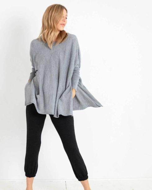 $89.00 Catalina Sweater/FOG