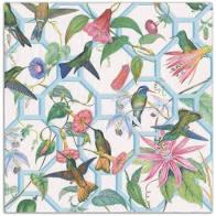 Hummingbird Trellis Paper  Cocktail Napkins collection with 1 products
