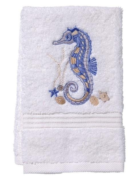 Terry Guest Towel Blue Seahorse collection with 1 products