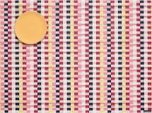 $25.00 Heddle Rect. Pansy Placemat