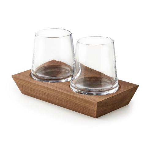 $145.00 Ludlow Whiskey Glass Set/2