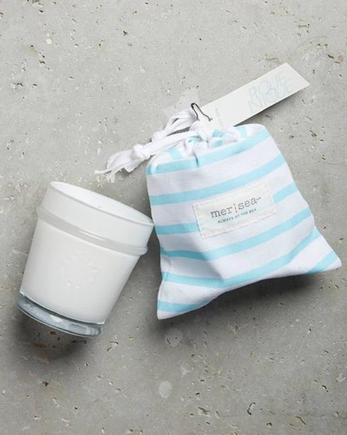 $28.00 Pique-Nique Striped Sandbag Candle