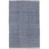 $56.00 Herringbone 2X3 Navy/Ivory In/Out Rug