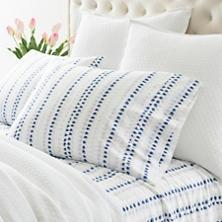 $56.00 Pair Std. Ink Dots Pillowcases