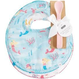 Muslin Mermaid Bib Set collection with 1 products