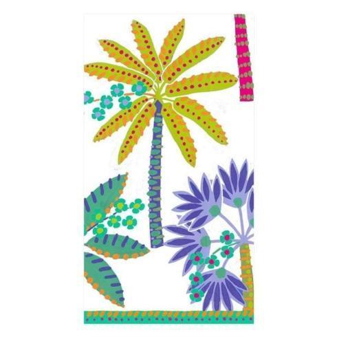 $8.95 Paradise Palms Paper Guest Napkins White