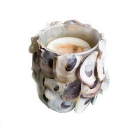 $28.00 Oyster Shell Candle