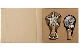 $27.00 Starfish Shell Stopper & Opener Set