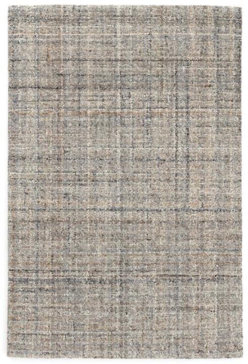 $110.00 Harris Blue/Brown 2X3 Hooked Wool Rug