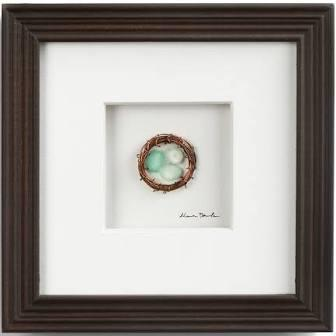 $35.00 Three In The Nest Wall Decor