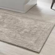 "$64.00 Signature Pearl Grey 22""X44"" Bath Rug"