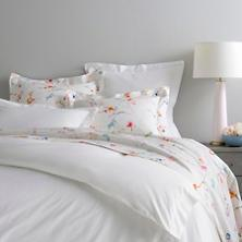 $272.00 King Classic White Hemstitch Duvet Cover